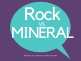 Science - Rocks and Minerals - grade 4 (3.1)
