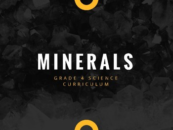 Science - Rocks and Minerals - grade 4 (3.2)
