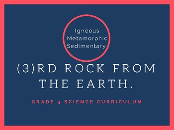 Science - Rocks and Minerals - grade 4 (3.3 and 3.4)