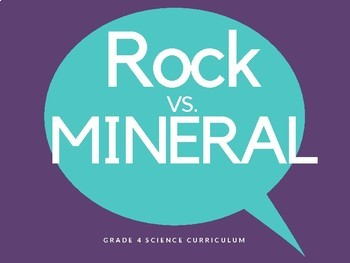 Science - Rocks and Minerals - grade 4 (Understanding Basic Concepts Bundle)