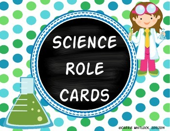 Science Role Cards Freebie!
