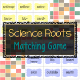 Science Root Word Matching Game