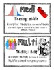 Science Root Words Vocabulary Mini Poster Set