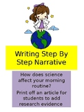 Science Routine Writing Narrative Prompt