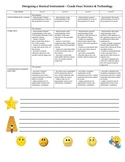 Science Rubric Template