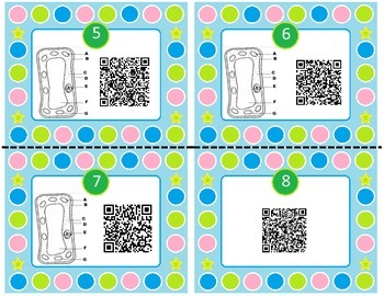 Science SOL 5.5 Living Systems QR Code Task Cards - 24 in set!