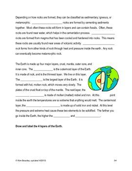 Science SOL 5.7 Geology