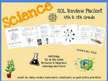 Science SOL Review Packet