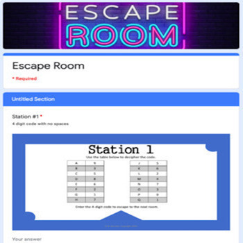 5th Grade Science STAAR Escape Room (TEKS 5.5-5.6)