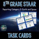 Science STAAR Review Task Cards - Earth and Space