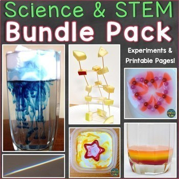 Science Experiments & STEM Through the Year Bundle Pack