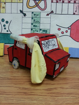 Science STEM - Designing, engineering, and creating own balloon powered car