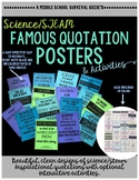 Makerspace Inspirational Quotations Posters