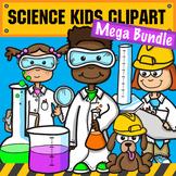Science & STEM Kids Clipart - Mega Bundle