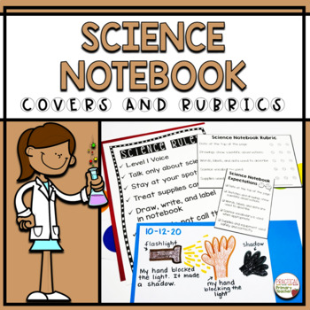 Science Notebook Editable Covers, STEM and STEAM Options
