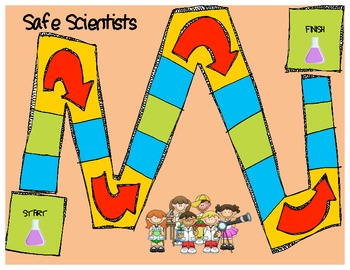 Science Safety Board Game!