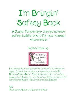 Science Safety Bulletin Board