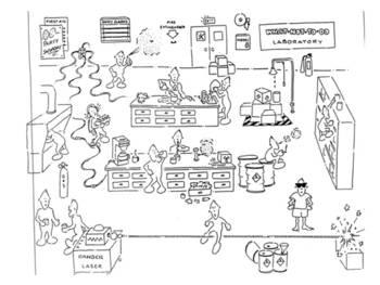 Science Safety Cartoon Activinspire By Jjms Teachers Pay Teachers