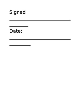 Science Safety Contract