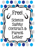 Science Safety Contract and Parent Letter