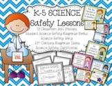 Science Safety Mini-Unit K-5 {Science Printables} Science Posters