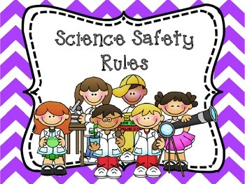 Science Safety Posters and Safety Contract