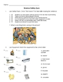Science Safety Quiz