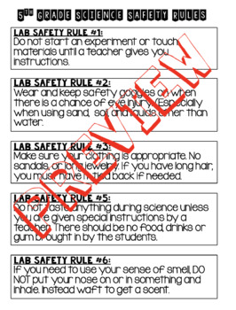 Science Safety Rules, Game and Contract Bundle