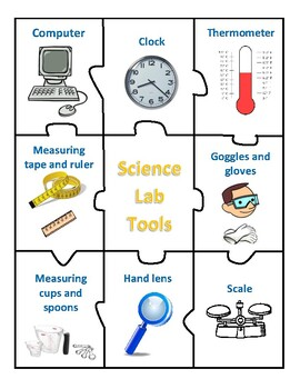 Science Safety Rules and Lab Tools - Centers