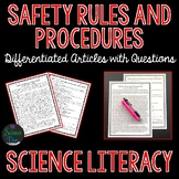 Science Safety Rules and Procedures - Science Literacy Article