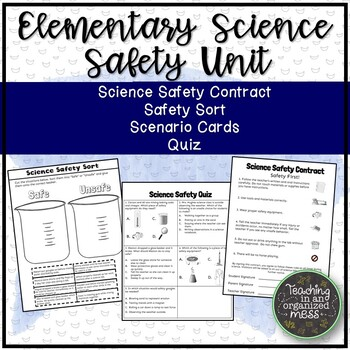 Elementary Science Safety Unit with Safety Contract