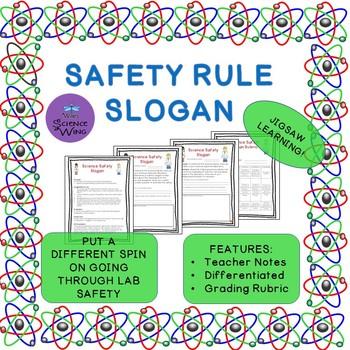 Science Safety Slogan