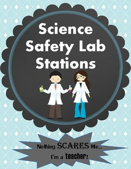 Science Safety Lab Stations Centers Activity