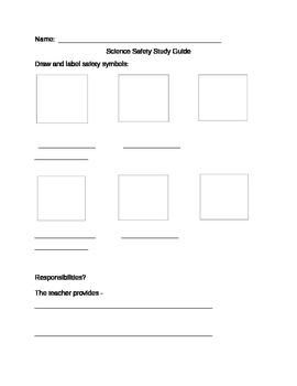 Science Safety Study Guide