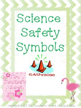 Laboratory Safety Symbols Interactive Notebook Activity