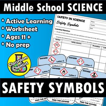 Safety Symbols Worksheet Teaching Resources Teachers Pay Teachers