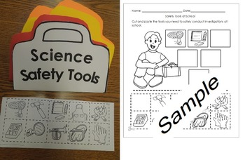 Science Safety Tools English and  Spanish Activities