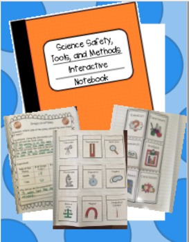Science Safety, Tools, and Method Interactive Notebook