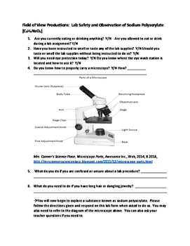 Science Safety Using Waterlock and Microscopes