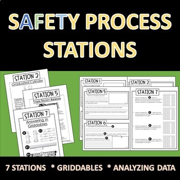 Safety and Laboratory Equipment Use Lab Stations