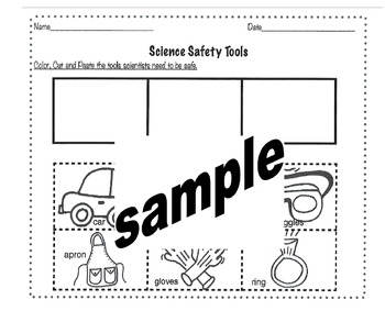 Science Safety tools