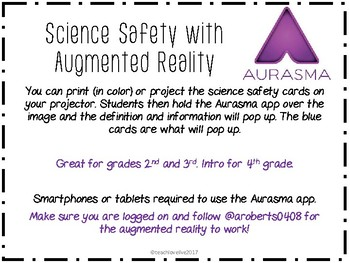 Science Safety with Augmented Reality- Aurasma