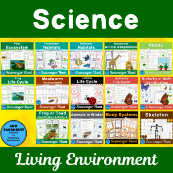 Science Scavenger Hunts Bundle