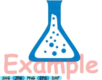 Science School SVG clipart scientist chemistry shape outline lesson math -269s