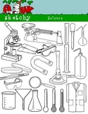 Science / Scientific Clipart Bundle Set