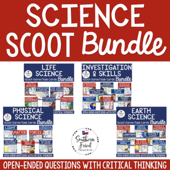 Science Scoot Games/Task Cards BUNDLE