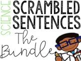 Science Scrambled Sentences Bundle