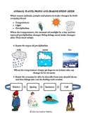 Science: Seasonal Changes: Assessment and Study Guide