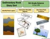 Science: Sedimentary Rock/Fossils Digital Activity (5.7A, 5.7D)