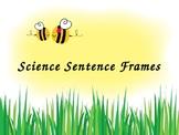 Science Sentence Frames